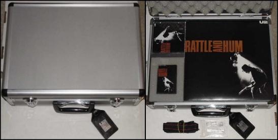 U2 Discography - Rattle and Hum Flight Case Promo / U2